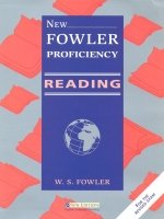 NEW FOWLER PROFICIENCY - READING TEACHER´S BOOK