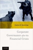 Corporate Governance After the Financial Crisis - Bainbridge, S.