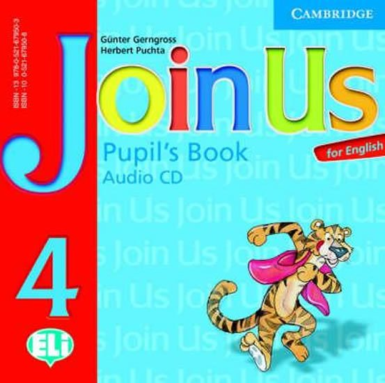 Join Us for English 4 Pupils Book Audio CD - Günter Gerngross