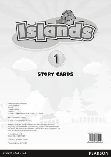 Islands Level 1 Story Cards for Pack