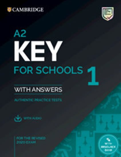 A2 Key for Schools 1 for revised exam from 2020 Student´s Book Pack (Student´s Book with answers with Audio) - neuveden