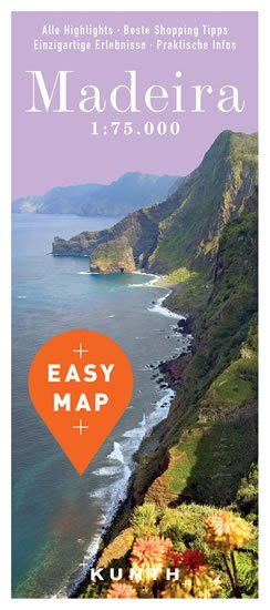 Madeira Easy Map - neuveden