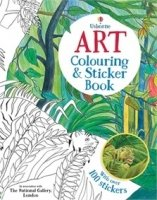 Art Colouring and Sticker Book (Colouring Book)