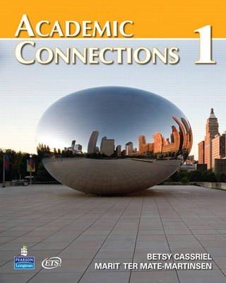 Academic Connection 1 - Students Book Lab Pack - Betsy Cassriel;Marit Ter Mate-Martinsen