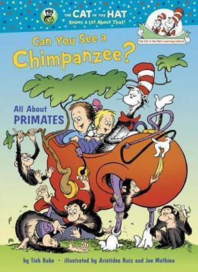 Can You See a Chimpanzee? All About Primates - Tish Rabe