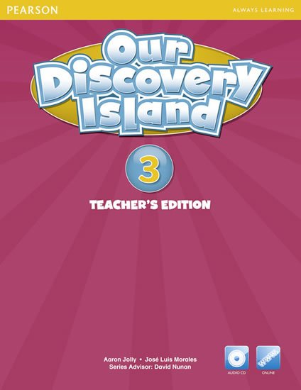 Our Discovery Island 3 Teachers Book with Audio CD/Pack