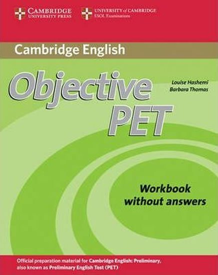 Objective PET Workbook without Answers - Louise Hashemi;Louise Hashemi