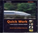 Quick Work Elementary Class Audio CD - GRANT, D.;MCLARTY, R.