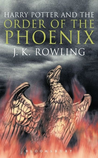 HARRY POTTER AND THE ORDER OF PHOENIX Adult Edition