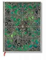 Paperblanks Silver Filigree Esmeralda Ultra Lined