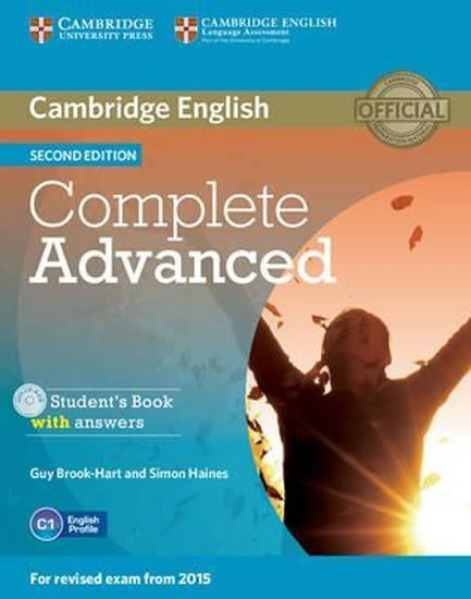 Complete Advanced 2nd Edition Student´s Book with Answers with CD-ROM (2015 Exam Specification) - Guy Brook-Hart