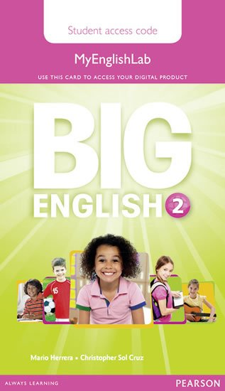 Big English 2 Pupil´s MyEnglishLab Access Code - Mario Herrera