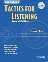 Expanding Tactics for Listening Second Edition Teacher´s Book with CD - RICHARDS, J. C.