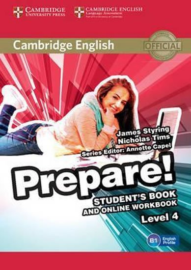 Prepare Level 4 Student´s Book and Online Workbook