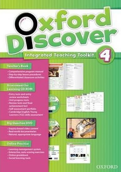 Oxford Discover 4 Teacher´s Book with Integrated Teaching Toolkit - Lesley Koustaff