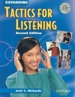EXPANDING TACTICS FOR LISTENING Second Edition STUDENT´S BOOK WITH CD