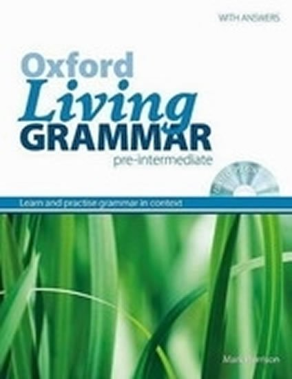 Oxford Living Grammar Pre-intermediate with Key and CD-ROM Pack (New Edition) - M. Harrison