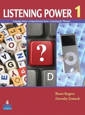 Listening Power 1 (Student Book with Classroom Audio CD) - Bruce Rogers;Dorothy E. Zemach