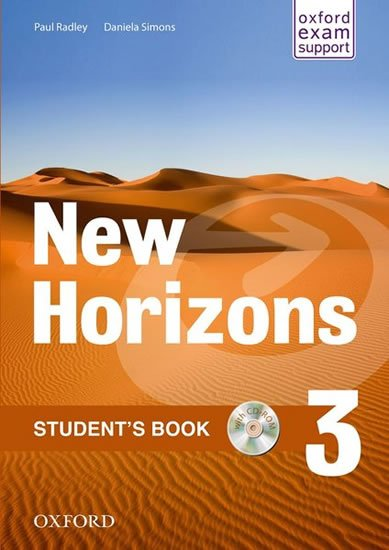 New Horizons 3 Student´s Book with CD-ROM Pack - Paul Radley