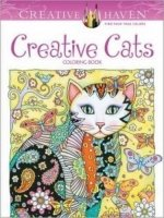 Creative Haven Creative Cats Coloring Book (Colouring Book) - Sarnat, M.