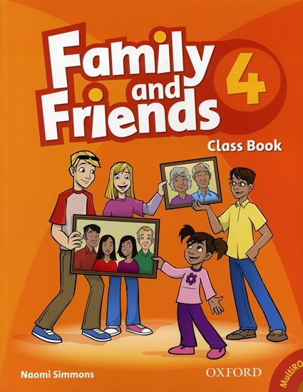 Family and Friends 4 Course Book with Multi-ROM Pack - Naomi Simmons