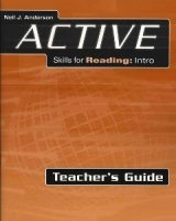 Active Skills for Reading Second Edition Intro Teacher´s Guide - ANDERSON, N. J.