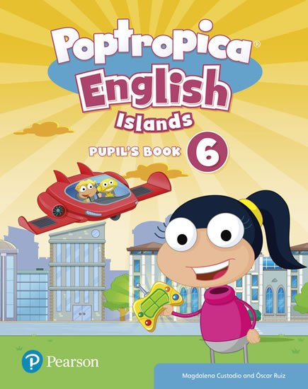 Poptropica English Islands 6 Pupil´s Book and Online World Access Code