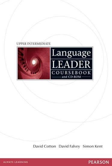 Language Leader Upper Intermediate Coursebook w/ CD-ROM Pack - Upper Intermediate Coursebook - David Cotton
