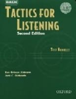 BASIC TACTICS FOR LISTENING Second Edition TEST BOOKLET WITH CD