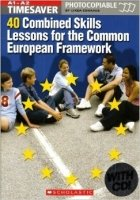 Timesaver: 40 Combined Skills Lessons for the Common European Framework A1/a2 With Audio Cd - EDWARDS, L.