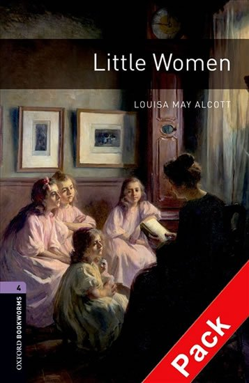 Oxford Bookworms Library 4 Little Women with Audio Mp3 Pack (New Edition) - Louisa May Alcottová