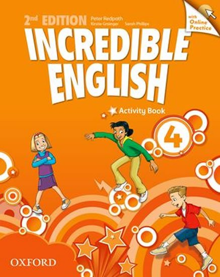 Incredible English 4 Activity Book with Online Practice (2nd) - Peter Redpath