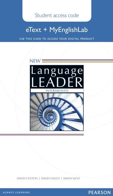 New Language Leader Intermediate Coursebook eText and MyEnglishLab pack