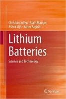 Lithium Batteries Science and Technology - Julien, Ch.;Mauger, A.;Vijh, A.;Zaghib, K.