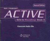 Active Skills for Reading Second Edition 4 Audio CDs - ANDERSON, N. J.