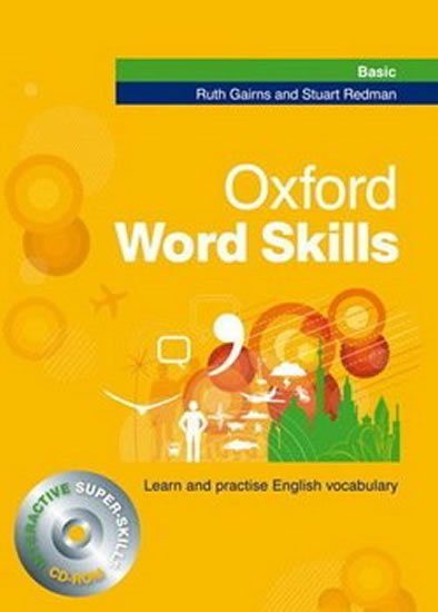 Oxford Word Skills Basic Student´s Pack (book + CD-ROM ) - Ruth Gairns;Stuart Redman