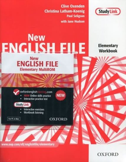 New English File Elementary Workbook with Multi-ROM Pack - Clive Oxenden