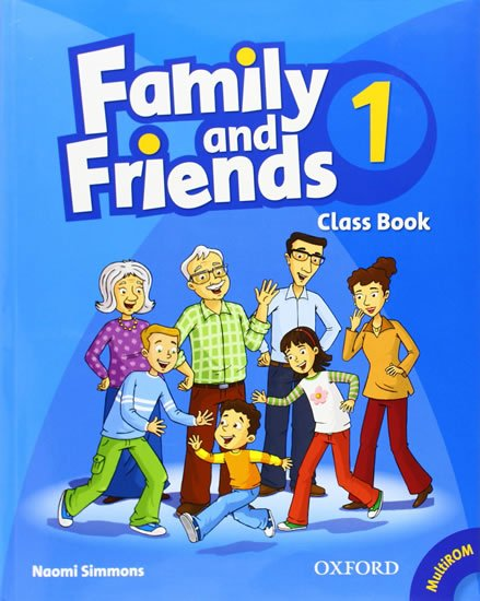 Family and Friends 1 Course Book with Multi-ROM Pack - Naomi Simmons