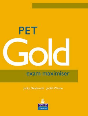 PET Gold Exam Maximiser No Key NE + Audio CD Pack