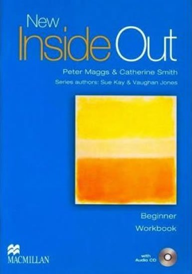 New Inside Out Beginner: Workbook (Without Key) + Audio CD Pack - Pete Maggs