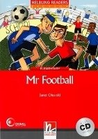 HELBLING READERS FICTION LEVEL 3 RED LINE - MR FOOTBALL + AUDIO CD PACK