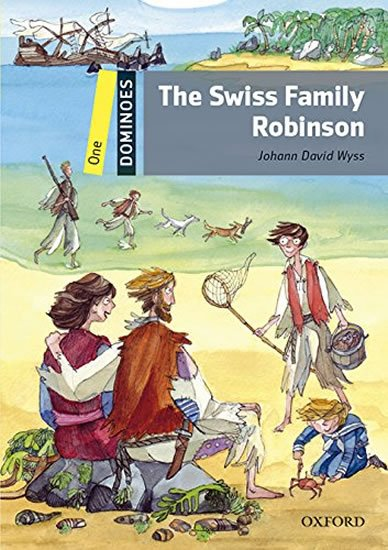 Dominoes 1 The Swiss Family Robinson with Audio Mp3 Pack (2nd) - Jahann David Wyss