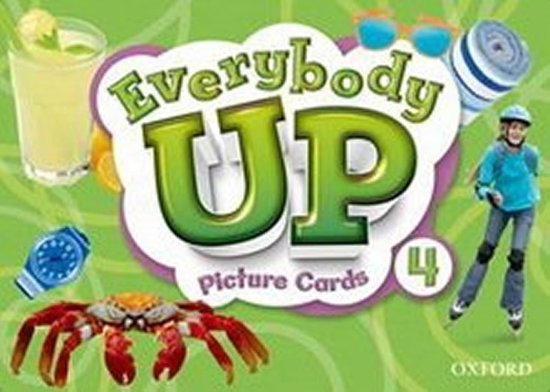 Everybody Up 4 Picture Cards