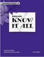 English Know It All 3 Teacher's Book - MCCLELLAND, S.;SNYDER, S.