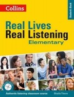 Real Lives, Real Listening Elementary With Audio Cd