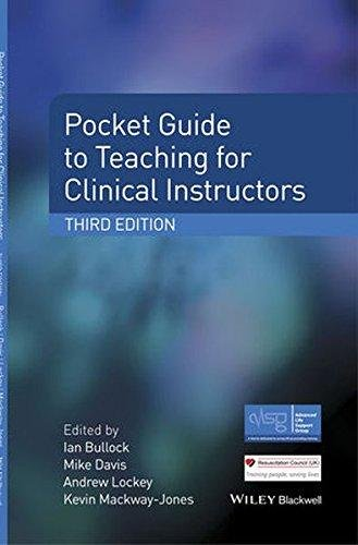 Pocket Guide to Teaching for Clinical Instructors 3E
