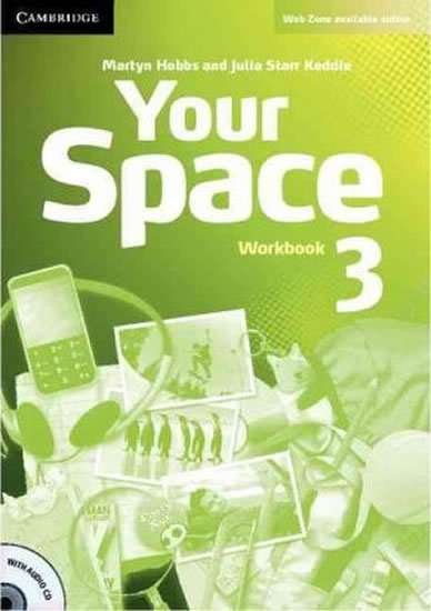 Your Space 3 Workbook with Audio CD - Martyn Hobbs