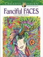 Creative Haven Fanciful Faces Coloring Book (Colouring Book)