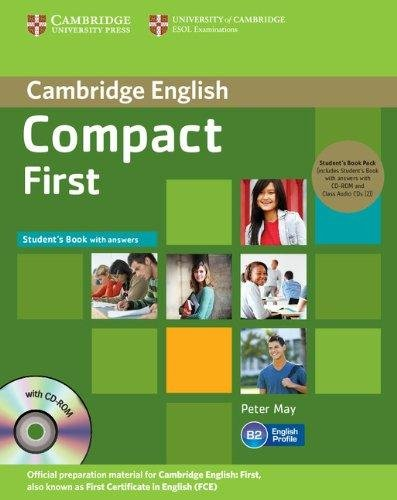 Compact First Self-Study Pack (SB w. Ans., gr. CD-ROM & A-CDs (2))