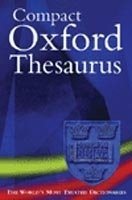 COMPACT OXFORD THESAURUS 2nd Edition